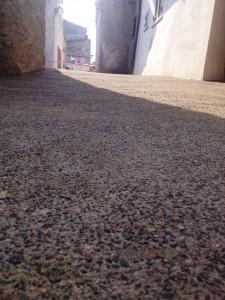 gravelmix - pavimento in sasso lavato