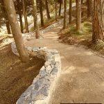 strada in terra stabilizzata ecostabilizer