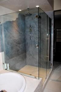 Rockpan-Box doccia in roccia artificiale