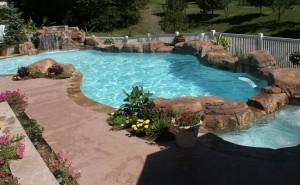 Rockpan-bordo piscina in roccia artificiale