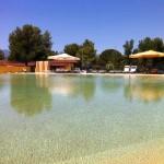 piscina aspetto effetto sabbia