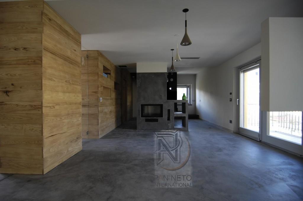 Il minicemento 3d - Pavimento in cemento spatolato e resina