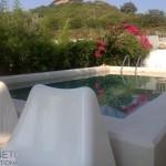 mini piscina efftto spiaggia