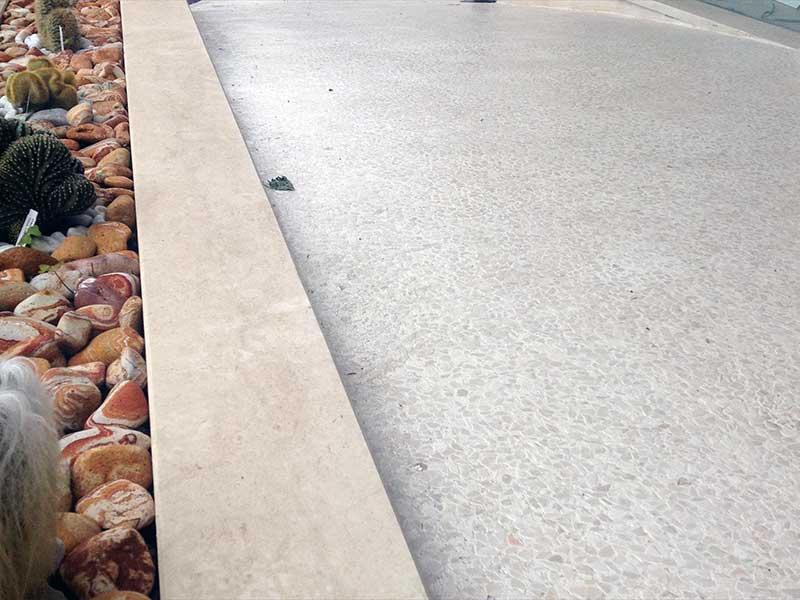 Pavimento In Ghiaino Lavato Prezzi Ghiaino Lavato E Drenante