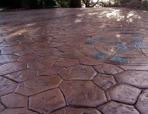 Come si realizza un pavimento in cemento stampato?