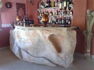 Rockpan - Banco bar in Roccia artificiale
