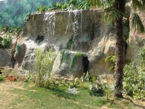 Rockpan- cascata in roccia artificiale