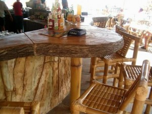 Rockpan-bancone bar in roccia artificiale
