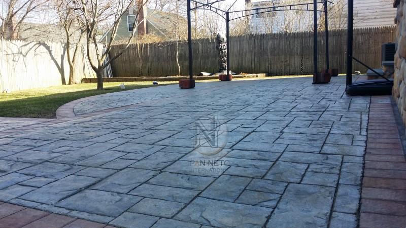 Calcestruzzo Stampato Palermo : Il pavimento stampato pan neto international