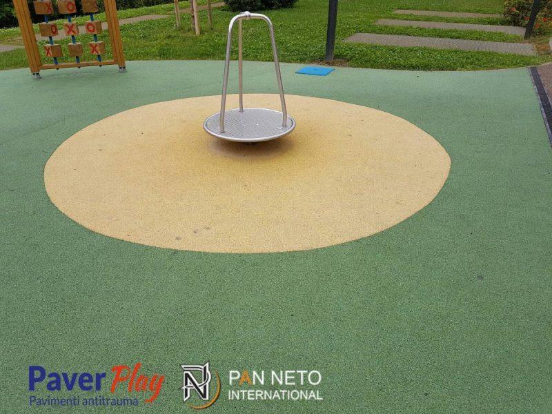 Pavimento In Gomma Per Box Cani : Pavimento antitrauma in gomma colata playground for childrens