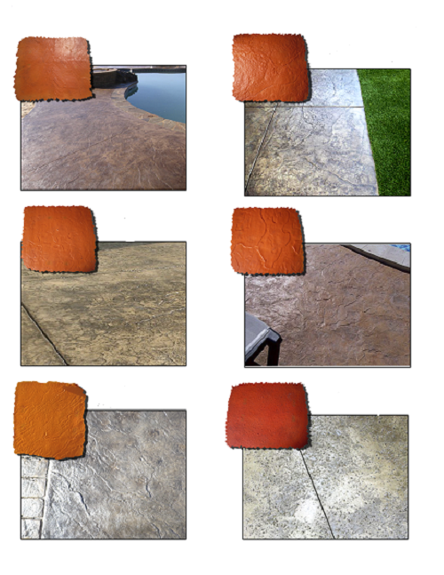 STAMPI CEMENTO EFFETTO ROCCIA - molds for concrete floors and artificial rocks