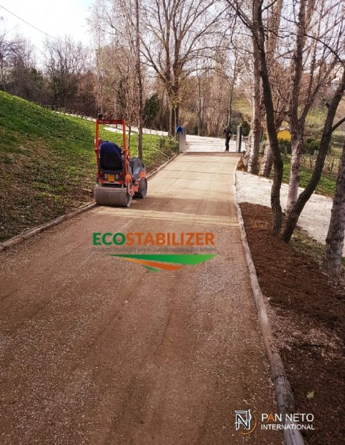 Terra stabilizzata - Ecostabilizer